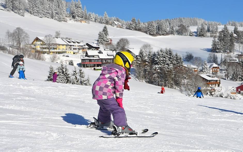 materiel ski enfant